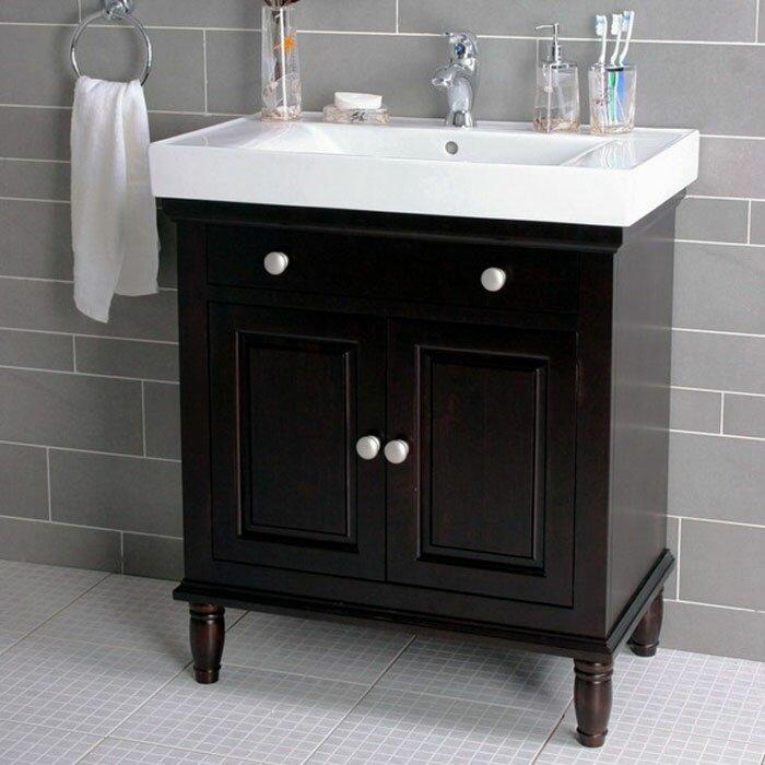 """lanza """" single bathroom vanity set  reviews  wayfair, Bathroom decor"""