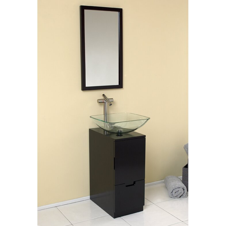 17 Single Brilliante Modern Bathroom Vanity Set With Mirror By Fresca