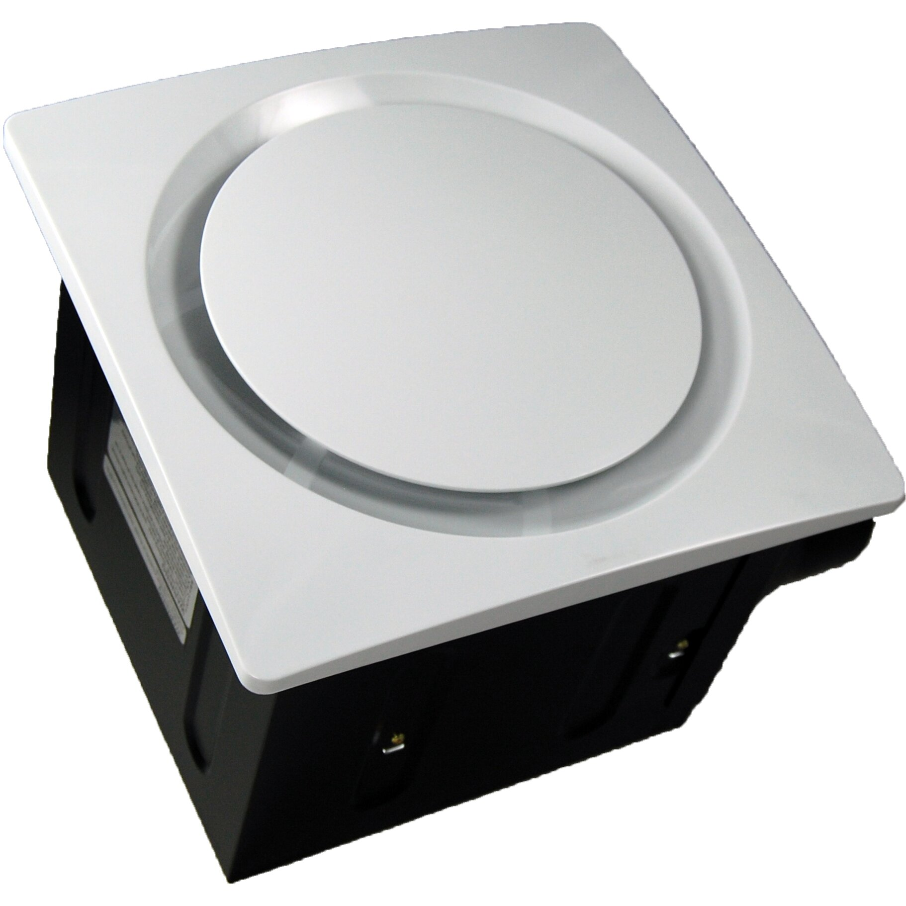 Bathroom Ventilation Fans : Aero pure super quiet cfm bathroom ventilation fan