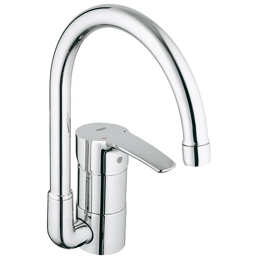 Grohe Eurostyle Single Handle Single Hole Standard Kitchen Faucet