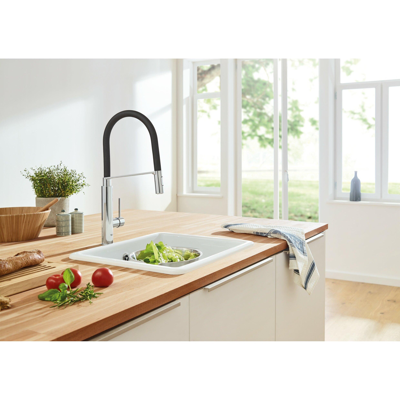 Grohe Concetto Kitchen Faucet Concetto Semi Pro Single Handle Kitchen Faucet Reviews Allmodern