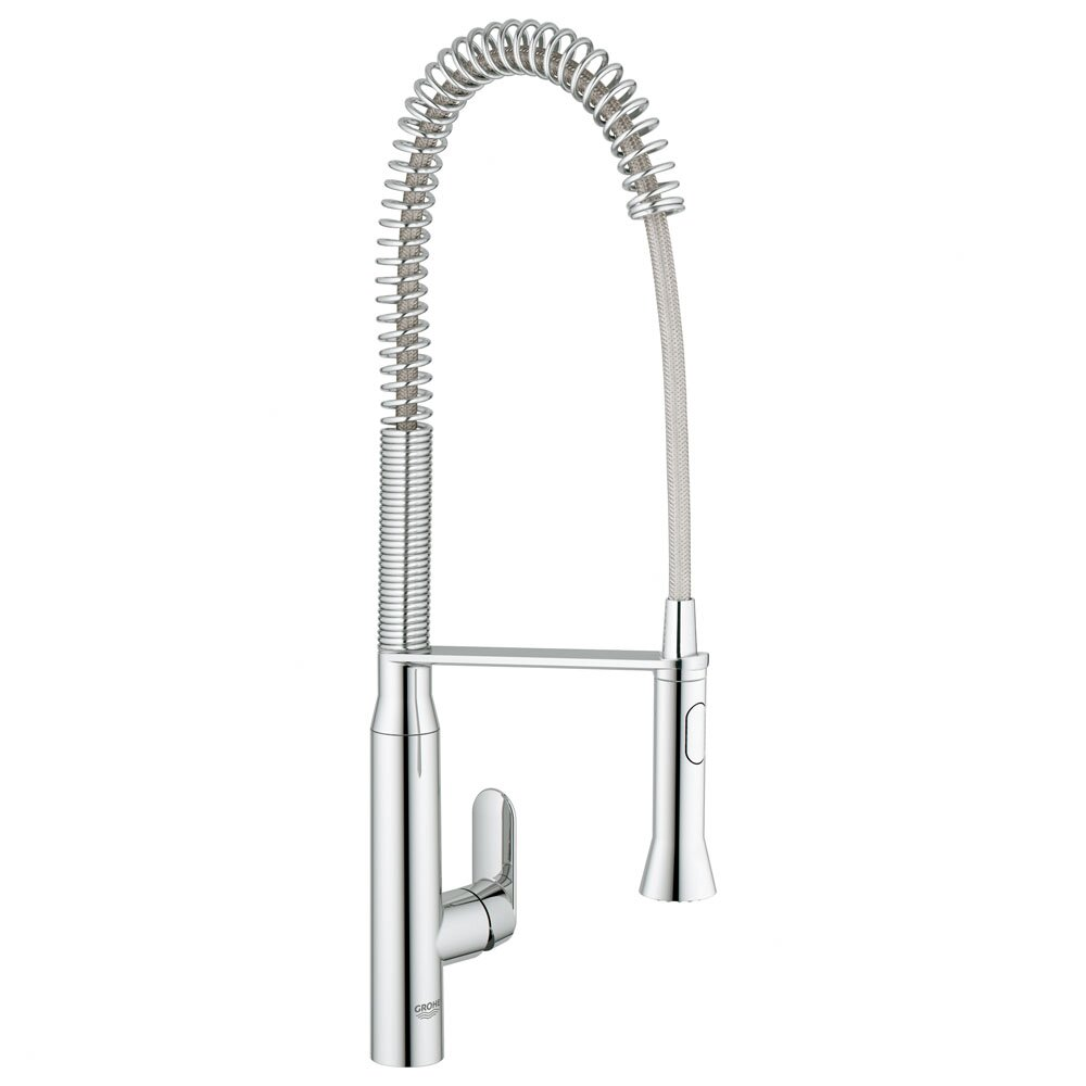 Most Reliable Kitchen Faucets Grohe K7 Single Handle Single Hole Standard Kitchen Faucet