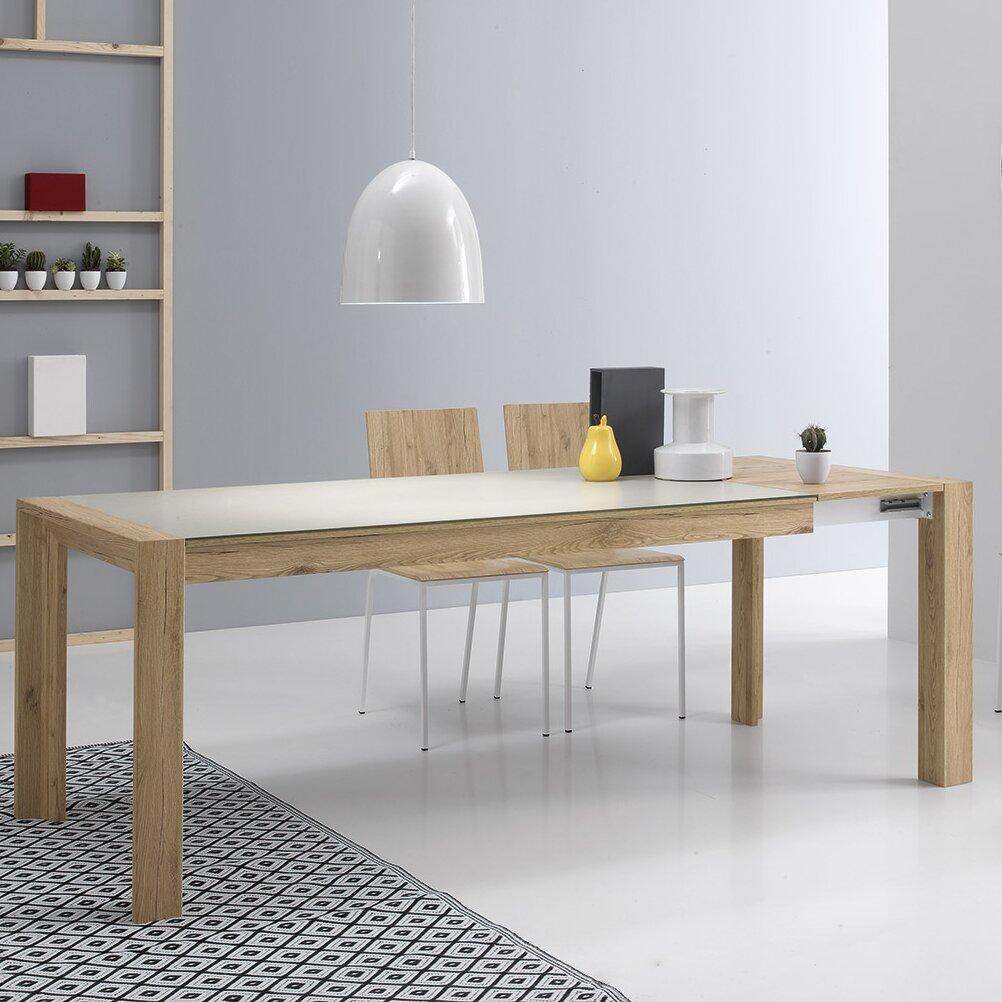 Rectangular Extendable Dining Table: YumanMod Mole Rectangular Extendable Dining Table