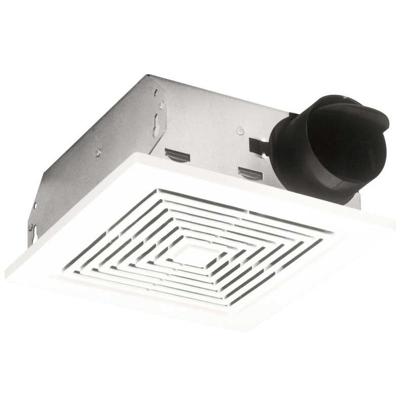 broan ceiling/wall mount 50 cfm bathroom exhaust fan & reviews