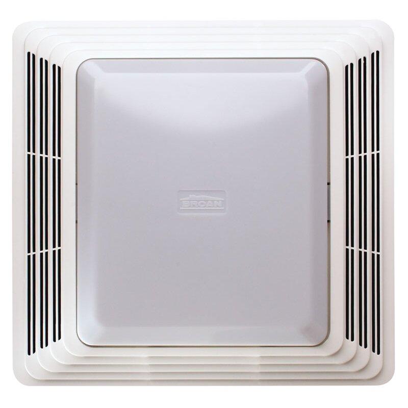 QUICK VIEW  50 CFM Bathroom Exhaust Fan with Light  by Broan. Broan   Wayfair