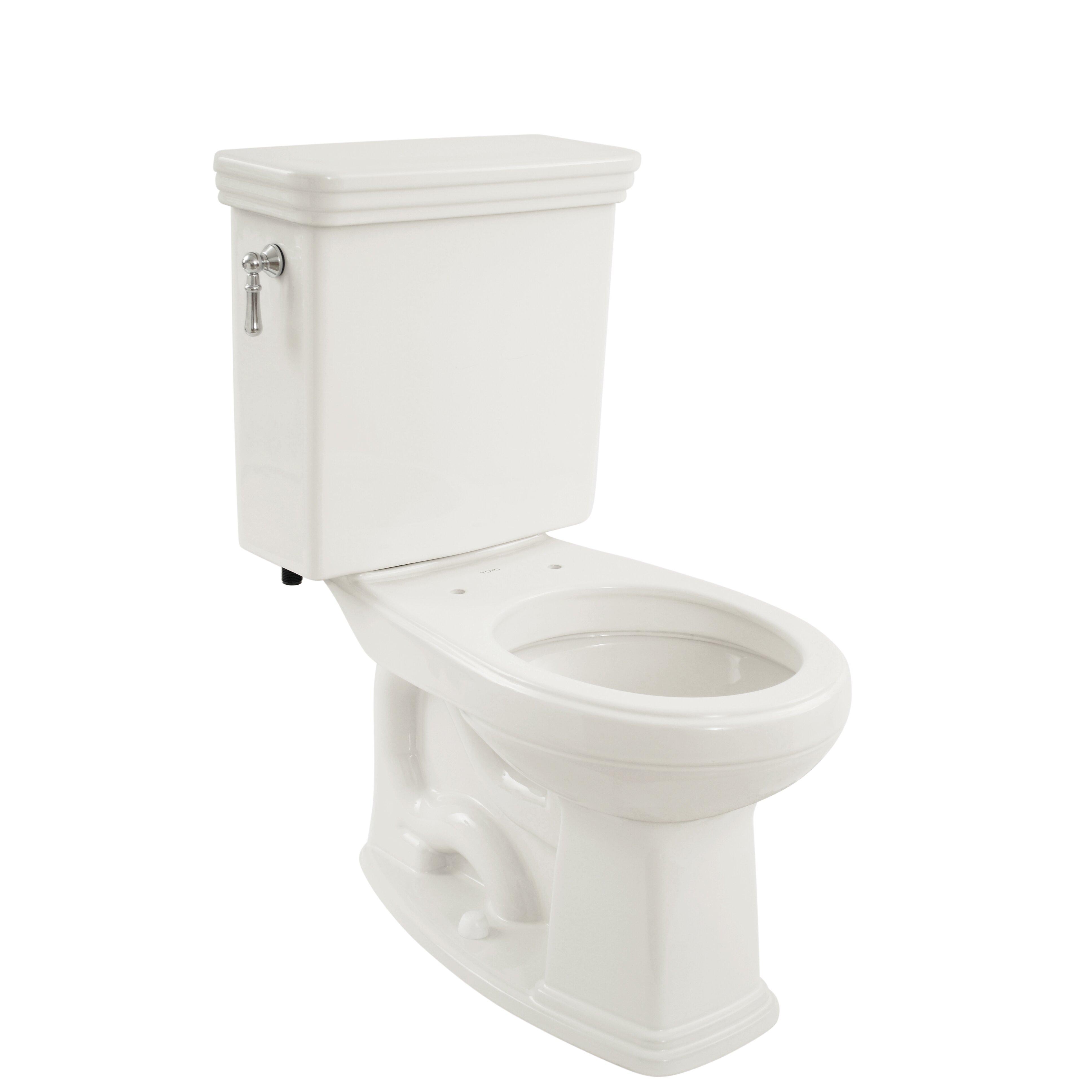 Toto Promenade  GPF Round TwoPiece Toilet  Reviews Wayfair - Toto japanese toilet seat