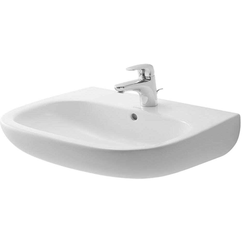 Duravit Bathroom Sink Duravit D Code U Shaped Wall Mount Bathroom Sink Ii Reviews