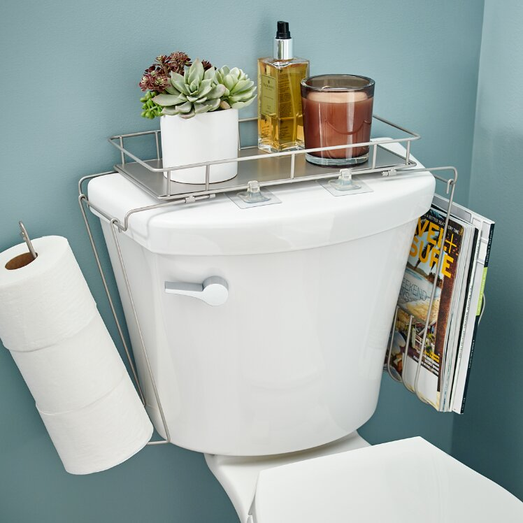 Franklin Brass 7 2 Quot W X 16 Quot H Over The Toilet Storage