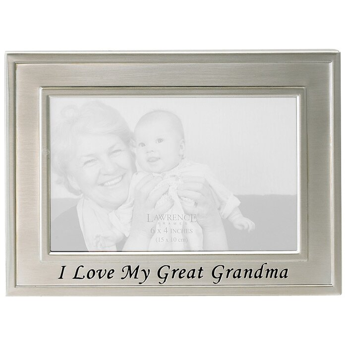 lawrence frames sentiments i love my great grandma picture frame