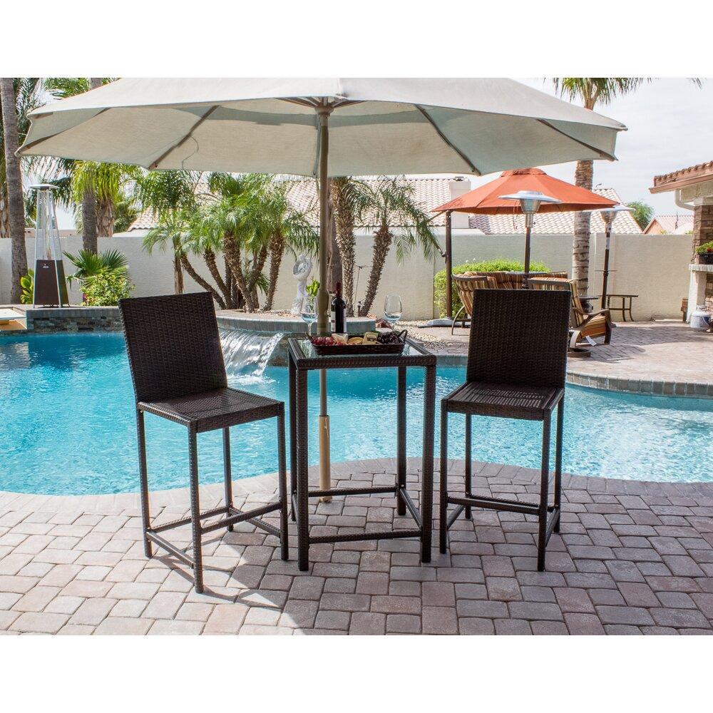 az patio heaters wicker 3 piece bar set reviews