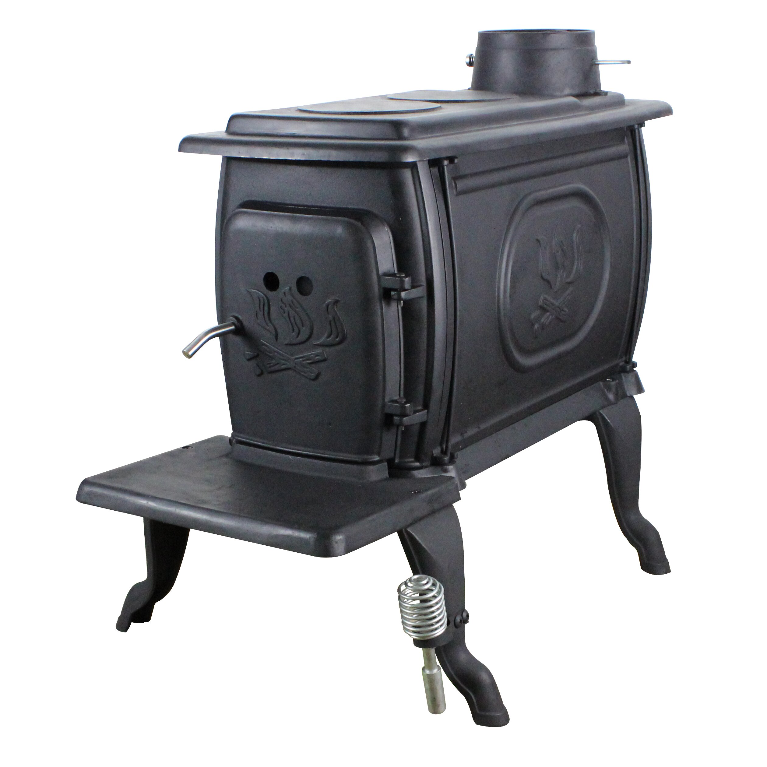 Us Stove Epa Certified Cast Iron Log 900 Square Foot Wood