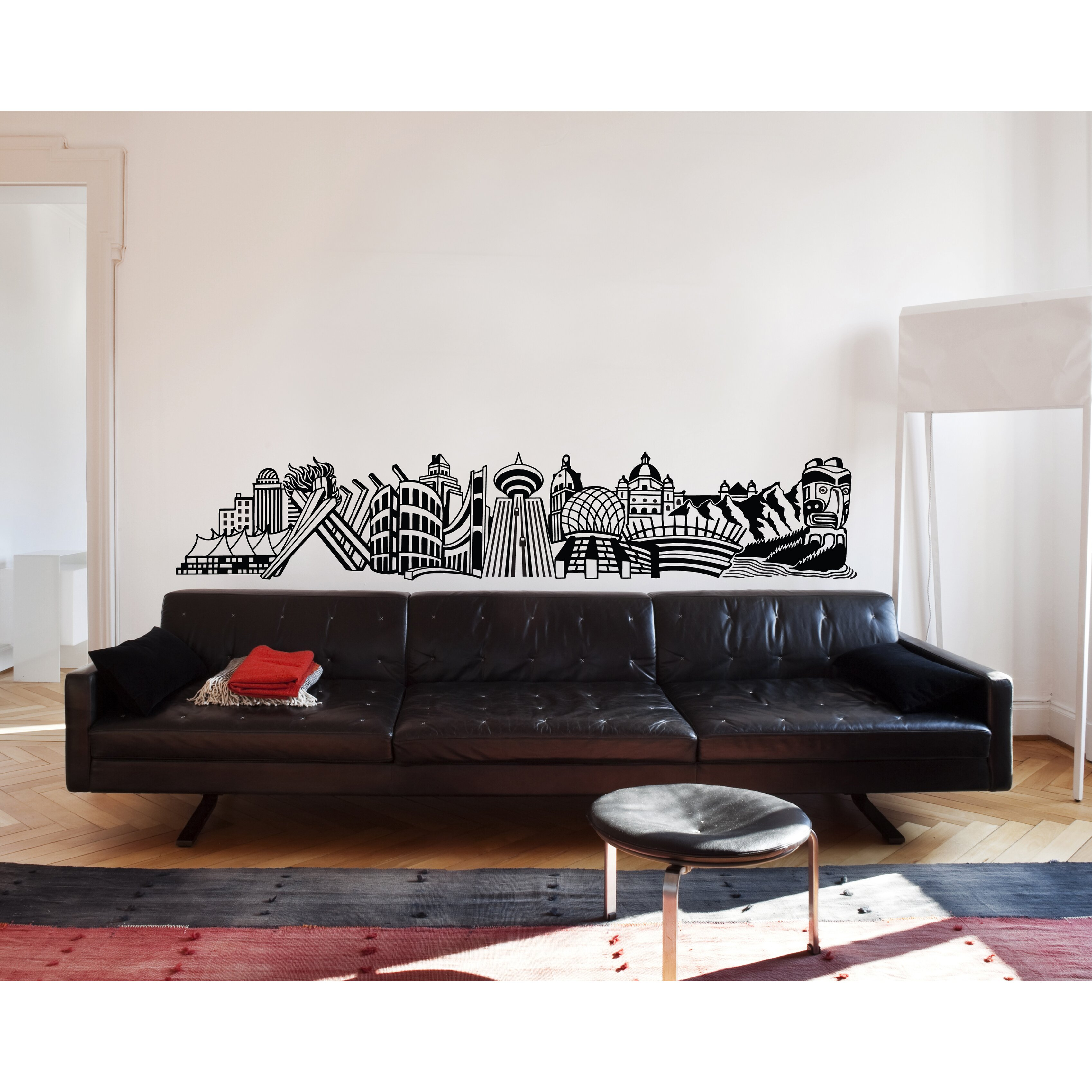 Adzif xxl into vancouver wall mural wayfair for Decor mural xxl