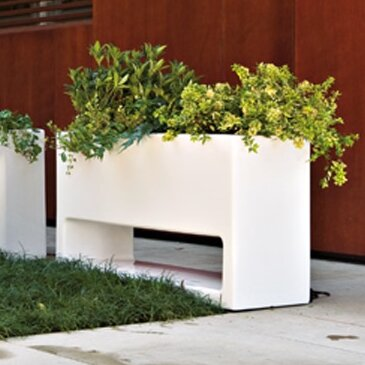 Serralunga lluna rectangular planter box reviews for Wayfair garden box