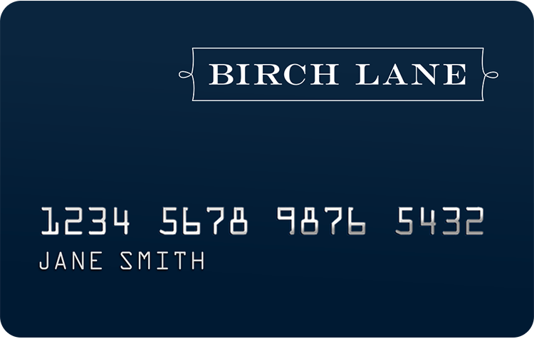 Birch Lane Credit Card